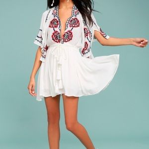 NWT - Free People Cora Embroidered Dress